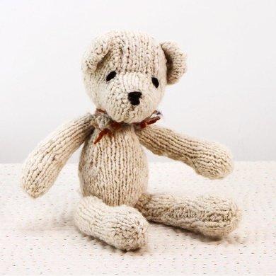 Kenana Nitters Kenana knitters cuddly bear S beige