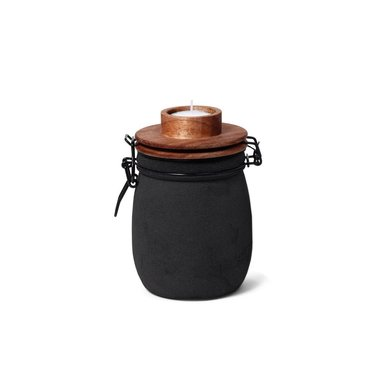 Leeff Leeff tea light holder Teun black