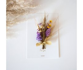Cocoomade Flowercard For you