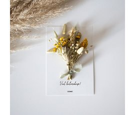Cocoomade Flower card Get well soon