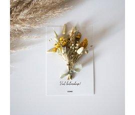 Cocoomade Flowercard Veel beterschap