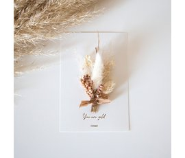 Cocoomade Flowercard You are gold