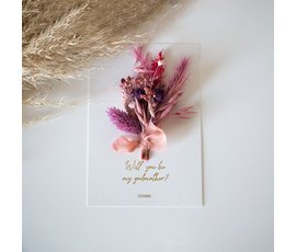 Cocoomade Flowercard let your dream's blossom