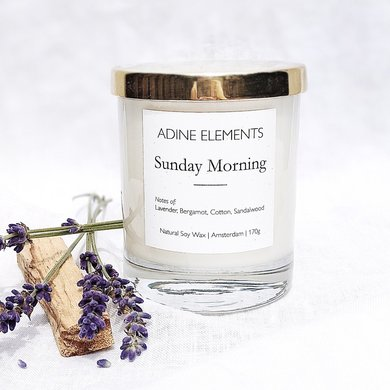 Adine Elements Adine Elements candle Sunday morning