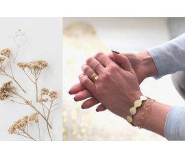 Lisa la pelle Lisa la Pelle armband Forever goud