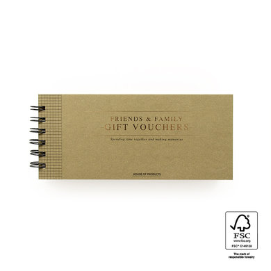 House of products HOP gift voucher Family and Friends