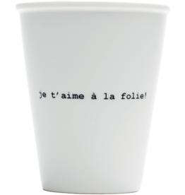 HELEN B HELEN B CUP JE T'AIME A LA FOLIE