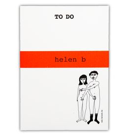 HELEN B HELEN B BLOCNOTE TO DO NAKED COUPLE