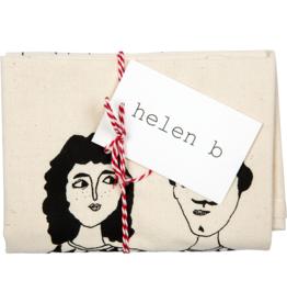 HELEN B HELEN B TEA TOWEL HAPPY TOGETHER