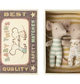 MAILEG MAILEG BABY MICE TWINS IN BOX