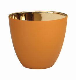 KLEVERING &K TEALIGHT GOLD HAZEL LARGE