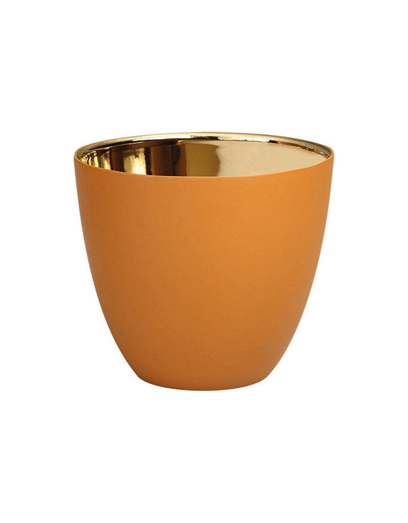 KLEVERING &K TEALIGHT GOLD HAZEL SMALL