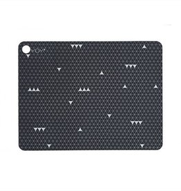 OYOY OYOY PLACEMAT GREY LINE SET VAN 2
