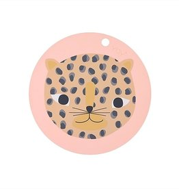 OYOY OYOY PLACEMAT LEOPARD ROUND