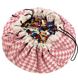 PLAY&GO PLAY&GO DIAMOND PINK OPBERG/SPEELMAT