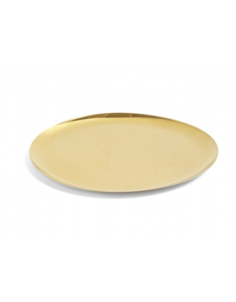 HAY HAY SERVING TRAY GOLDEN
