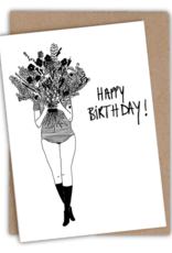 HELEN B HELEN B KAARTJE HAPPY BIRTHDAY FLOWER GIRL