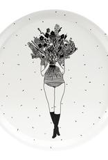 HELEN B HELEN B DIENBLAD ROND FLOWER GIRL