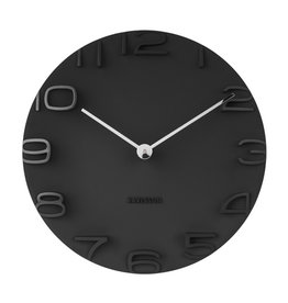 PRESENT TIME PT KARLSSON WALL CLOCK ON THE EDGE BLACK