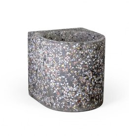ATELIER PIERRE AP FIFTY FLOWER POT M TERRA DARK