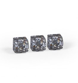 ATELIER PIERRE AP FIFTY SET 3 PICT HOLDERS DARK TERRAZZO