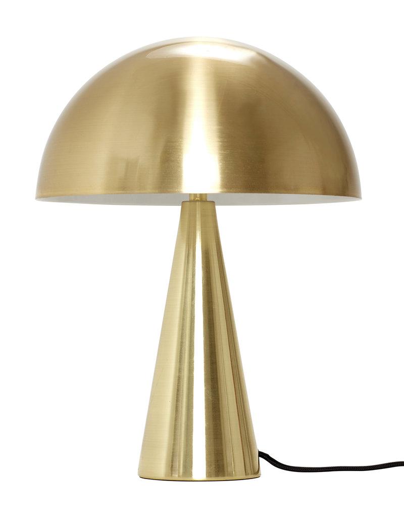 HUBSCH HUBSCH TABLE LAMP BRASS METAL 33CM