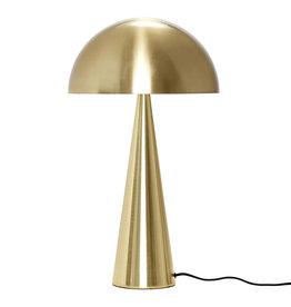 HUBSCH HUBSCH TABLE LAMP BRASS METAL 52CM