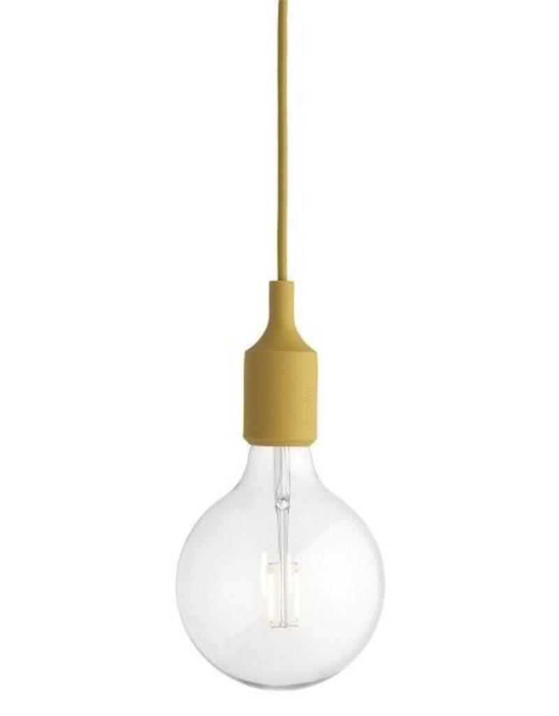 MUUTO MUUTO E27 HANGLAMP MOSTERD LED