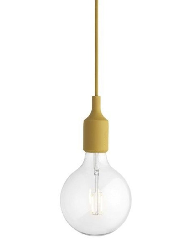 MUUTO MUUTO E27 SOCKET LAMP MUSTARD