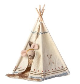 MAILEG MAILEG LITTLE FEATHER WITH TENT