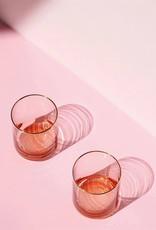 KLEVERING &K GLASS PINK SET OF 4