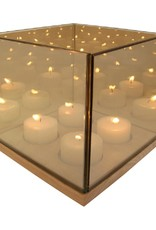 KLEVERING &K REFLECTION TEALIGHT QUARTET GOLD
