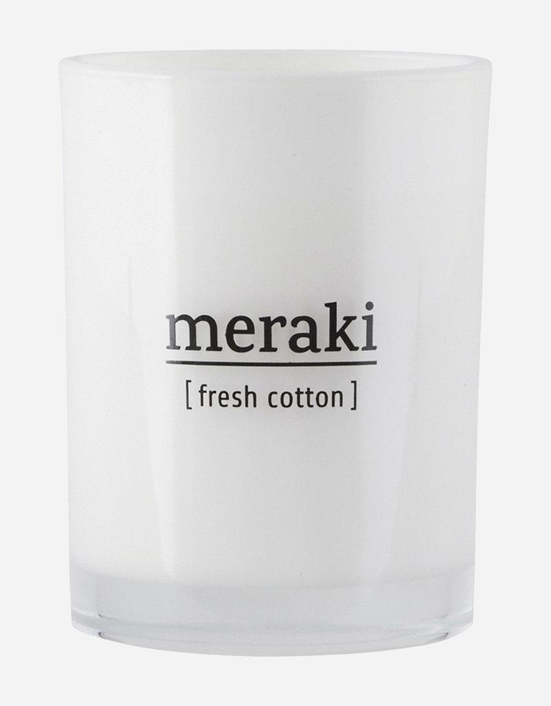 MERAKI MERAKI CANDLE 8CM FRESH COTTON