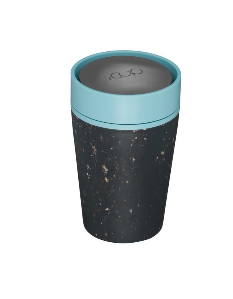 RCUP rCup Thermos Koffiebeker - 0,2L ZWART/BLAUW