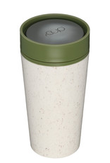 RCUP rCup Thermos Koffiebeker - 0,35L CREME/GROEN