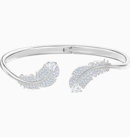 SWAROVSKI SWA Nice armband wit rodium-verguld