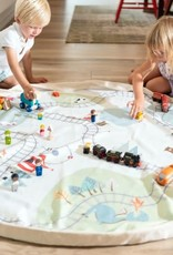 PLAY&GO PLAY&GO TRAINMAP/BEARS SPEELMAT