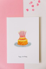 PINK CLOUD STUDIO PINK BDAY BIRTHDAY CAKE