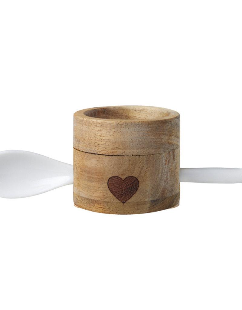 RADER RADER EGG CUP SET HEART