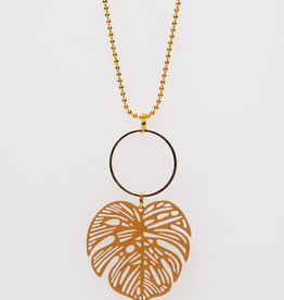 MON ONCLE MON ONCLE KETTING BIG OCHRE LEAF