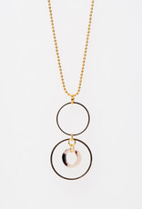 MON ONCLE MON ONCLE MARB KETTING PINK LEOPARD