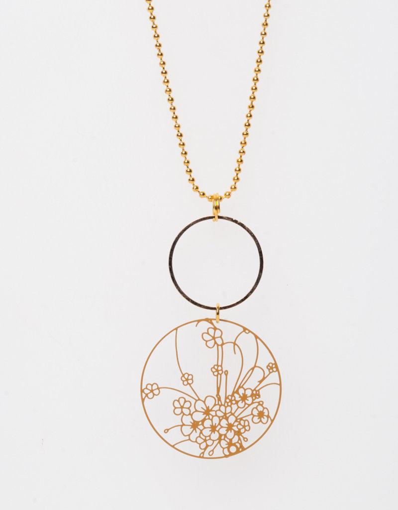 MON ONCLE MON ONCLE LEAF KETTING BOTANICAL OCHRE