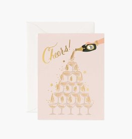 RIFLE PAPER CO RIFLE MISC CHAMPAGNE TOWER CHEERS