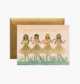 RIFLE PAPER CO RIFLE BDAY HULA CARD