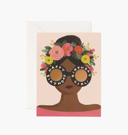 RIFLE PAPER CO RIFLE BDAY FLOWER CROWN GIRL