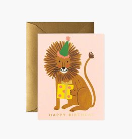 RIFLE PAPER CO RIFLE BDAY LION BIRTHDAY CARD