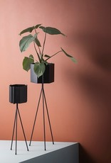 FERM LIVING FERM PLANT STAND BLACK LOW