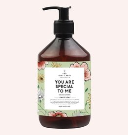 THE GIFT LABEL GIFT LABEL HAND SOAP YOU ARE SPECIAL TO ME