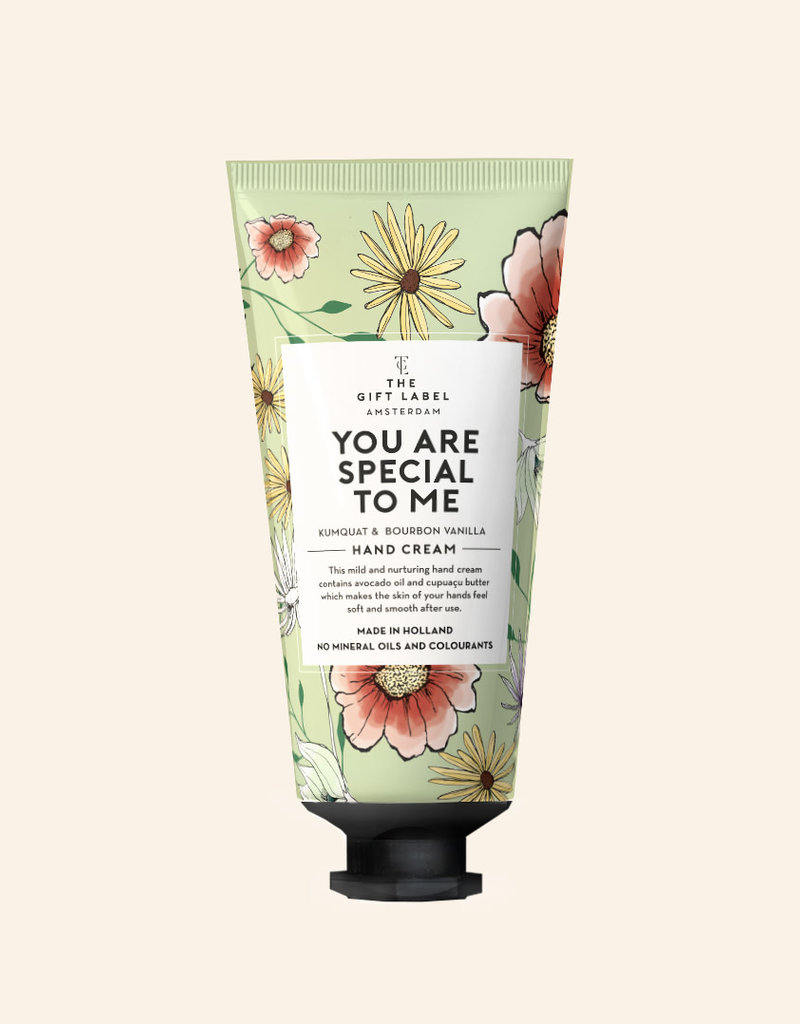 THE GIFT LABEL GIFT LABEL HAND CREAM TUBE YOU ARE SPECIAL TO ME