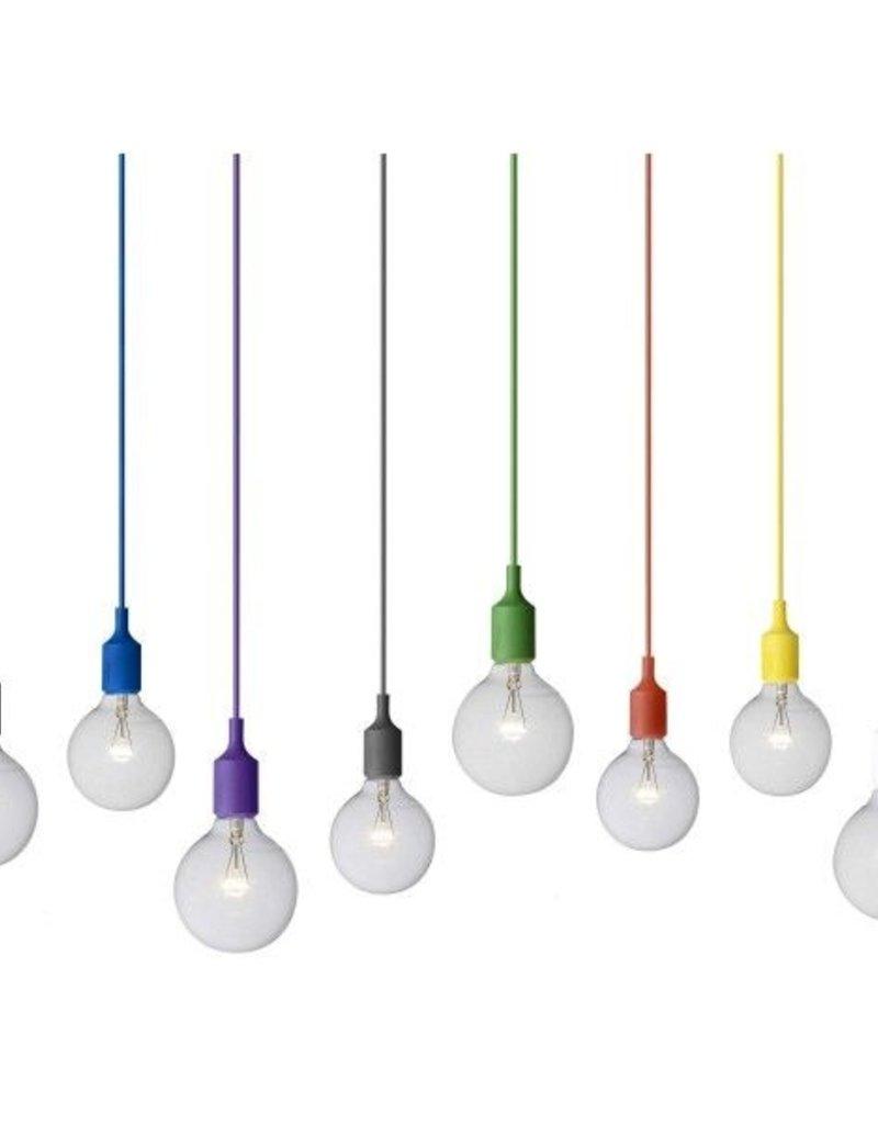 MUUTO MUUTO E27 HANGLAMP TERRACOTTA LED